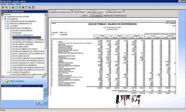 Sba Sistema De Finanzas Y Contabilidad
